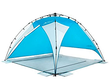 3 Pacific Breeze - Sand u0026 Surf Beach Shelter beach sun shade  sc 1 st  Canopy Tent Reviews & Best Beach Tent Reviews 2018 - Top 5 Comparison and Buying Guide