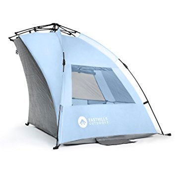 2 Easthills Outdoors - Easy Up Beach Tent  sc 1 st  Canopy Tent Reviews & Best Beach Tent Reviews 2018 - Top 5 Comparison and Buying Guide
