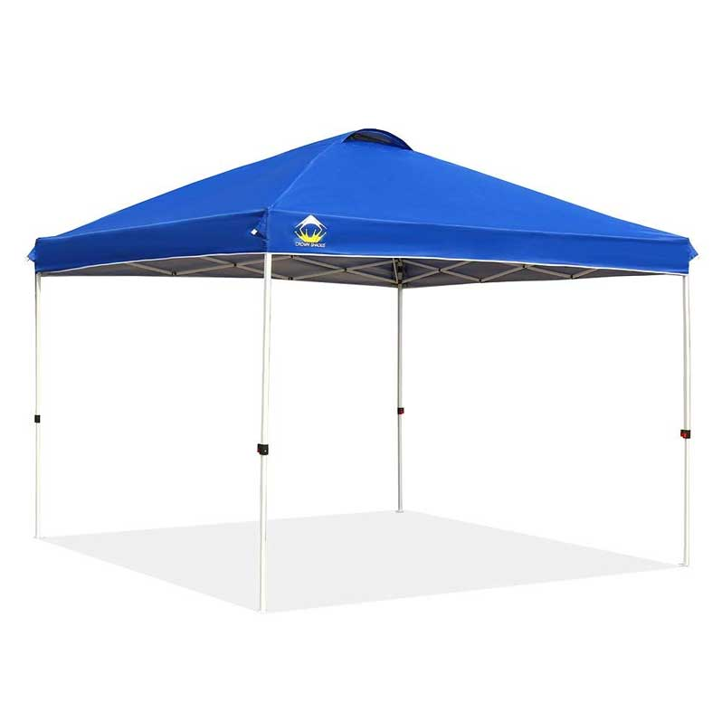 Crown Shades - 10'x10' Outdoor Pop Up Beach Canopy
