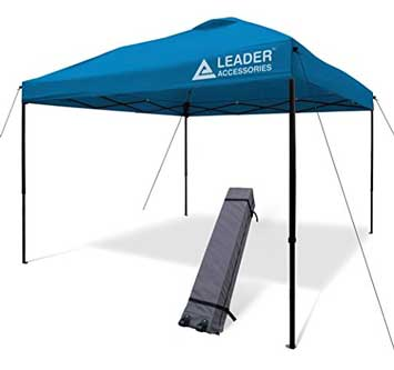 Leader Accessories - Instant Pop Up Straight Leg Canopy