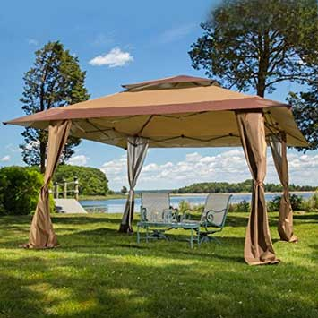 4 Z-Shade - 13u0027x13u0027 Pop Up Patio Gazebo & Best Pop Up Gazebo Canopy 2018 - Portable Gazebo Tent Reviews