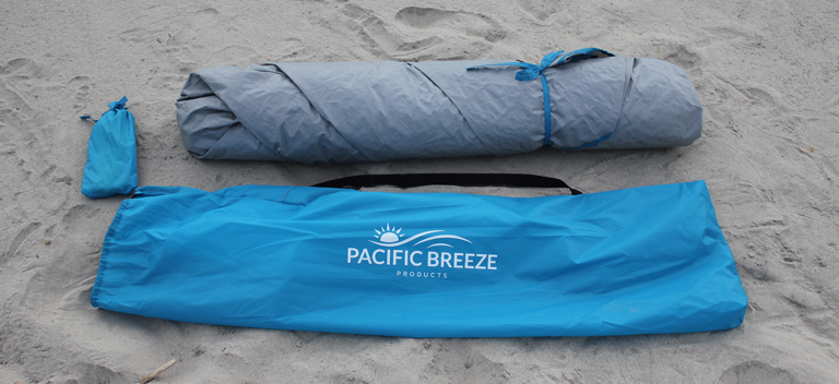 Pacific Breeze Sand and Surf Shelter Carry Bag