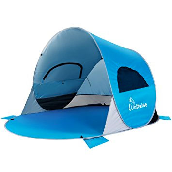 WolfWise - Easy Pop Up Beach Tent Baby Canopy